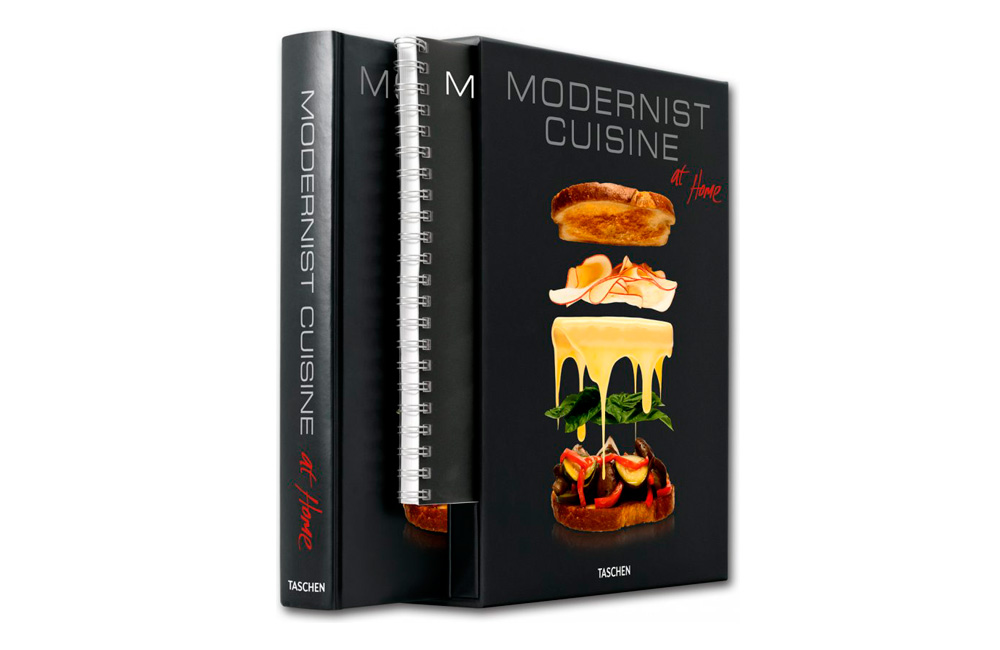 Modernist cuisine at home for Taschen cuisine