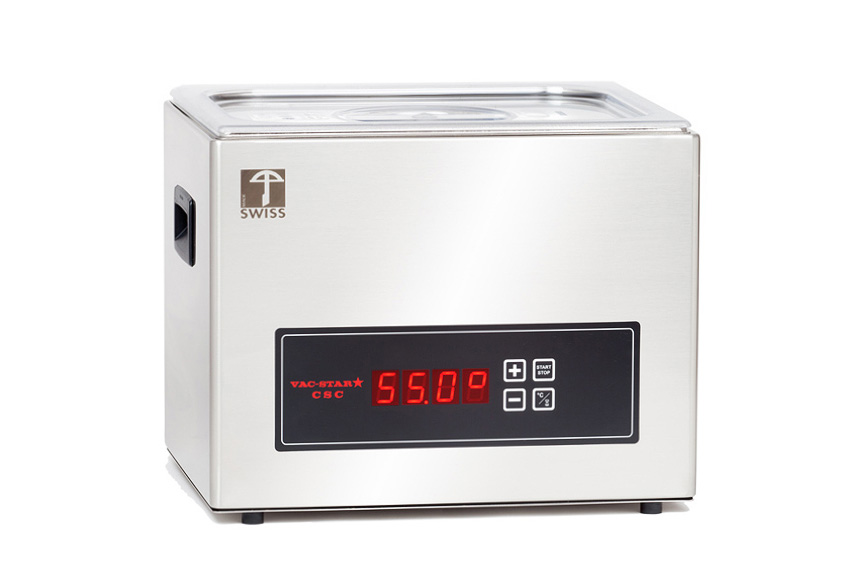 vac star csc compact sous vide wasserbad 9 liter. Black Bedroom Furniture Sets. Home Design Ideas