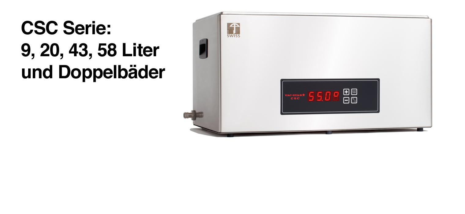 Ab 879,- € – Die CSC Serie von Vac-Star richtet sich an den professionellen Anwender in der Gastronomie und ist in verschiedenen Größen erhältlich: 9 Liter, 20 Liter, 43 Liter, […]