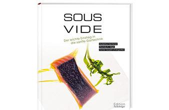 """""""Sous-Vide"""" erläutert umfassend und fundiert Theorie und Grundlagen des Vakuumgarens, stellt das nötige Equipment vor und bietet mit über 60 kreativen Rezept-Ideen den perfekten Einstieg in die Gartechnik der Extraklasse. […]"""