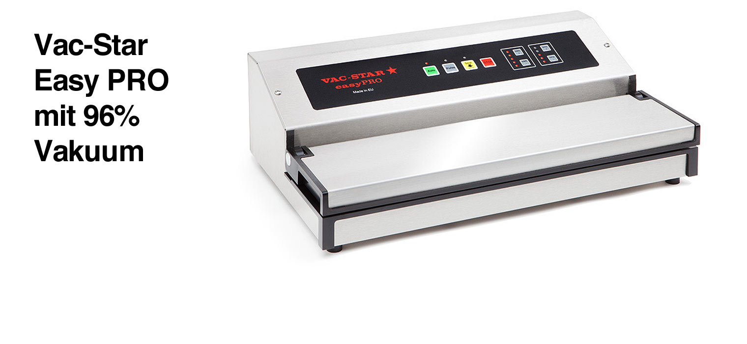 398,- € – Im hochwertigen Edelstahlgehäuse eignet sich das easy für den professionellen Einsatz und den Gebrauch im Haushalt gleichermaßen. Die Dual-Pumpe schafft einen Vakuumwert von bemerkenswerten 96% – einen […]