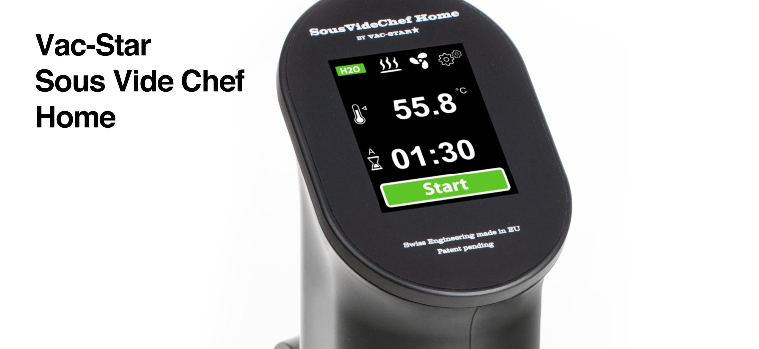 299,- € – Der Sous Vide Chef Home wurde speziell für den Privatanwender im Haushalt konzipiert. Schlanker und kompakter mit bedienfreundlichem Touch-Screen und einem attraktiven Preis-/ Leistungsverhältnis…. Vac-Star Sous-Vide Chef […]