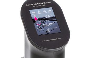299,- € – Der Sous Vide Chef Smart wurde speziell für den Privatanwender im Haushalt konzipiert. Schlanker und kompakter mit bedienfreundlichem Touch-Screen und einem attraktiven Preis-/ Leistungsverhältnis….  Vac-Star Sous-Vide […]
